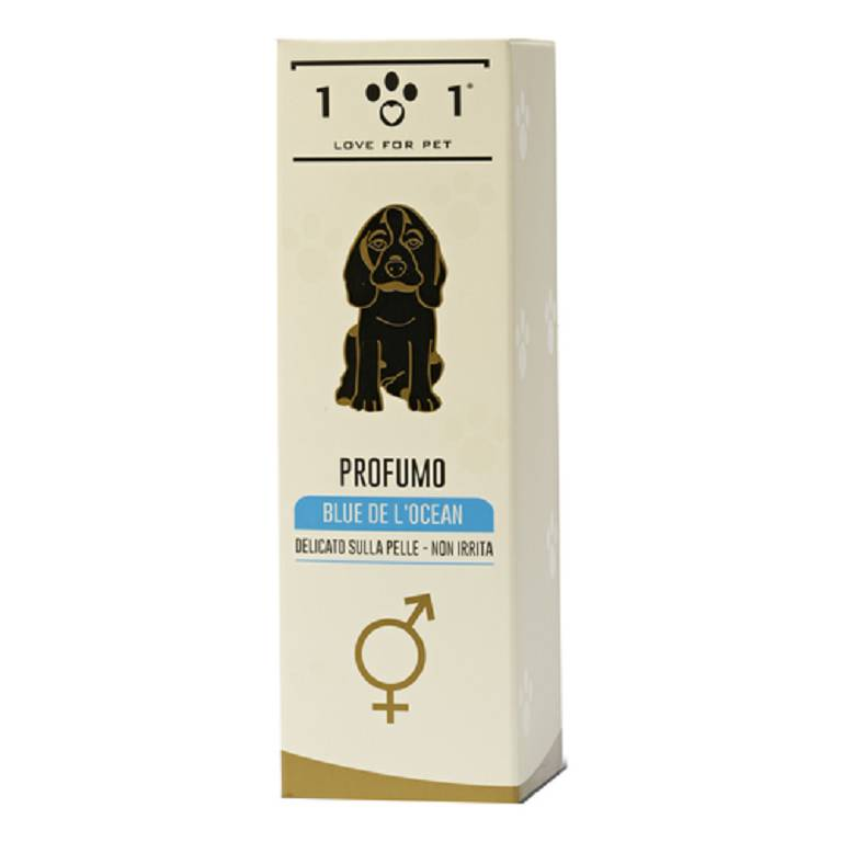 101 LOVE FOR PET Profumo Cani Blue de Ocean