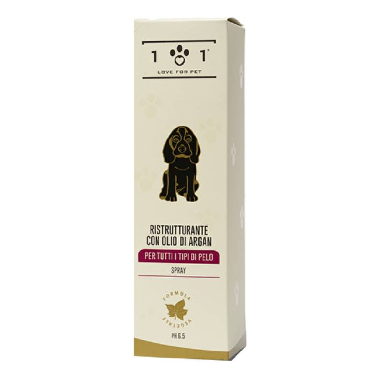 101 LOVE FOR PET Ristrutturante Olio di Argan