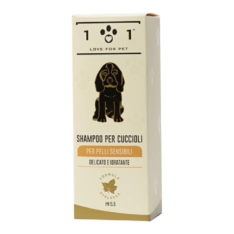 101 LOVE FOR PET Shampoo Cuccioli Pelli Sensibili