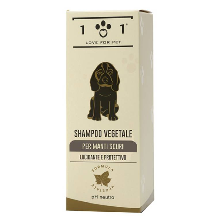 101 LOVE FOR PET Shampoo Vegetale Manti Scuri