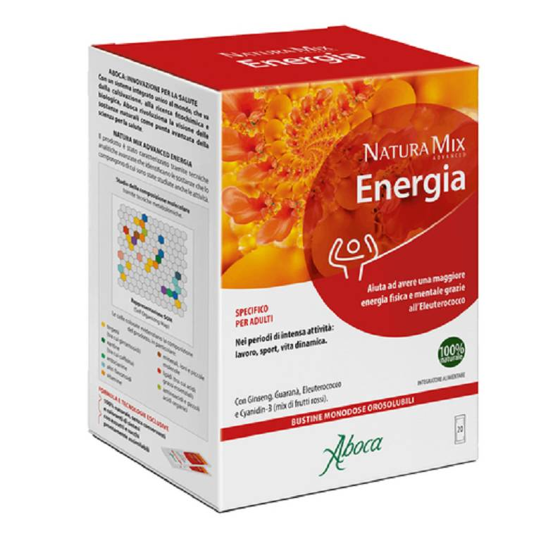 ABOCA Natura Mix Advanced Energia 20 Bustine