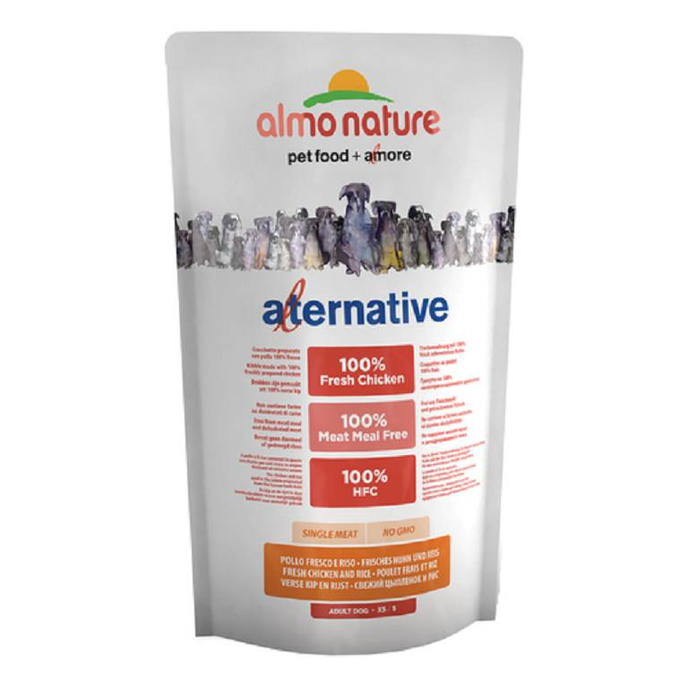 ALMO NATURE Alternative Dog XS/S Pollo 750g