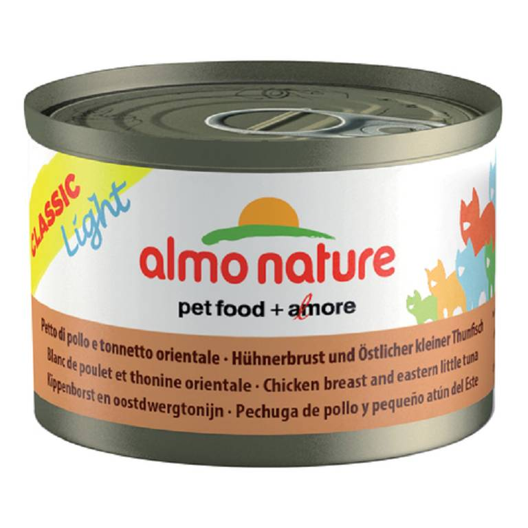 ALMO NATURE Cat Light Pollo Tonno 3x50g