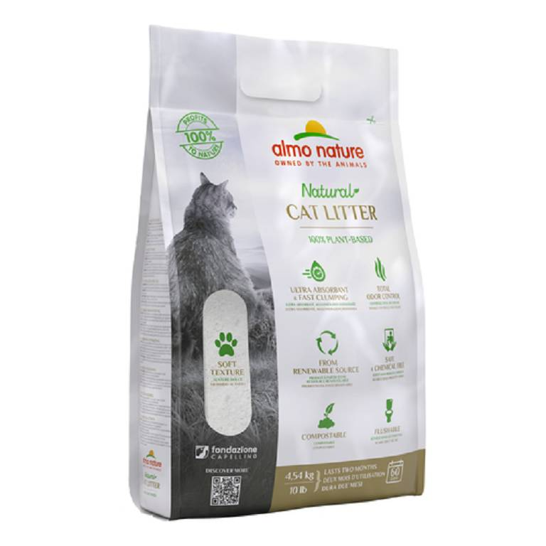 ALMO NATURE CAT LITTER 4,54KG