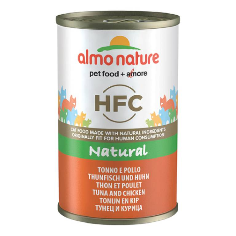 ALMO NATURE CAT TONNO POL 140G