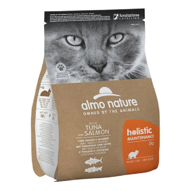 ALMO NATURE Holistic Cat Dry M Ton/Sal 2kg