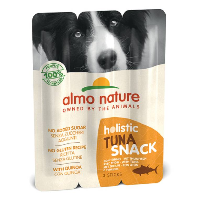 ALMO NATURE Holistic Snack Dog 10 Tonno 3pz