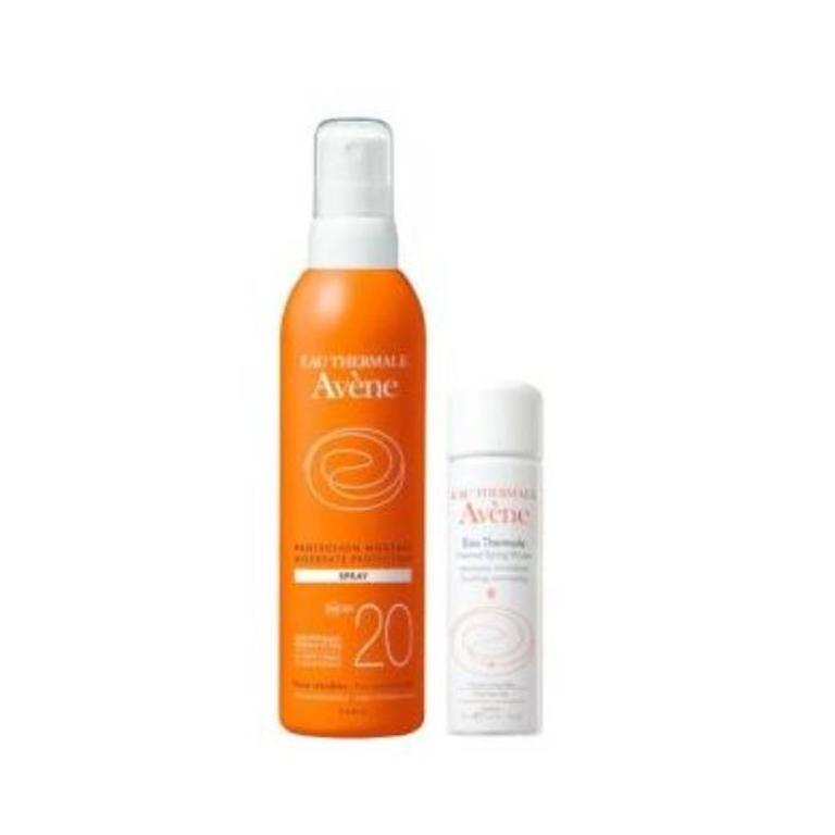 AVENE Spray SPF20+ Spray Acqua Termale