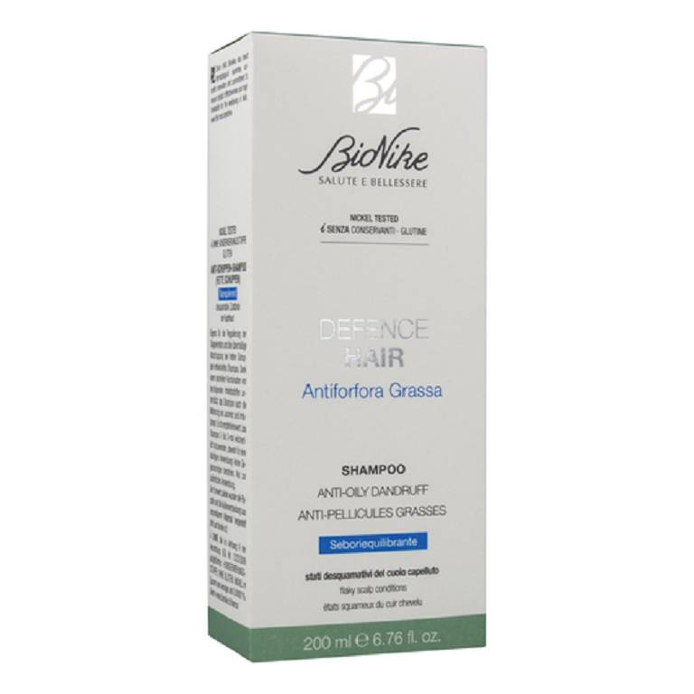 BIONIKE Defence Hair Shampoo Antiforfora Grassa