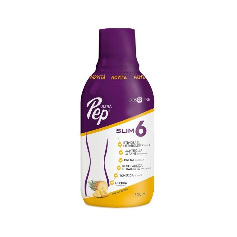 BIOS LINE Ultra Pep Slim 6 Ananas 500ml