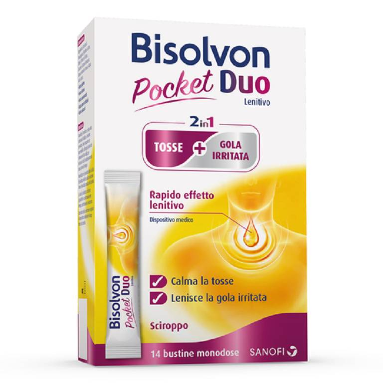 BISOLVON Duo Pocket Lenitivo 14 Bustine