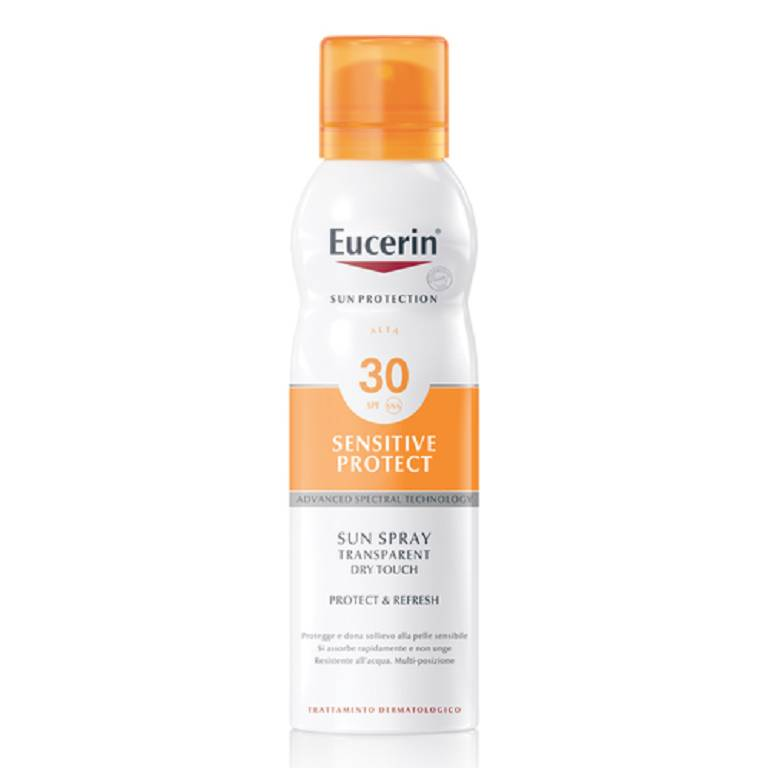 EUCERIN Sunsensitive Protect Sun Transparent Dry Touch Spray SPF30