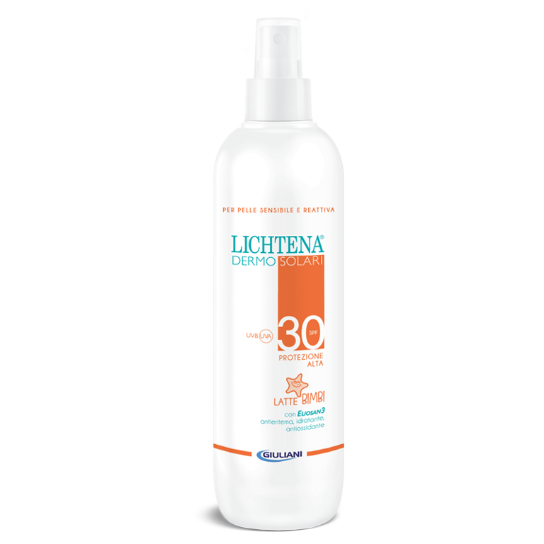 LICHTENA Dermosolari Latte Bimbi Spray SPF 30