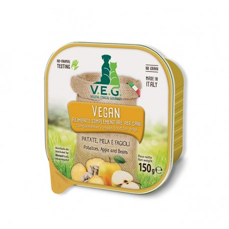 MARPET Vegan Dog  Patate Mela Fagioli 150g