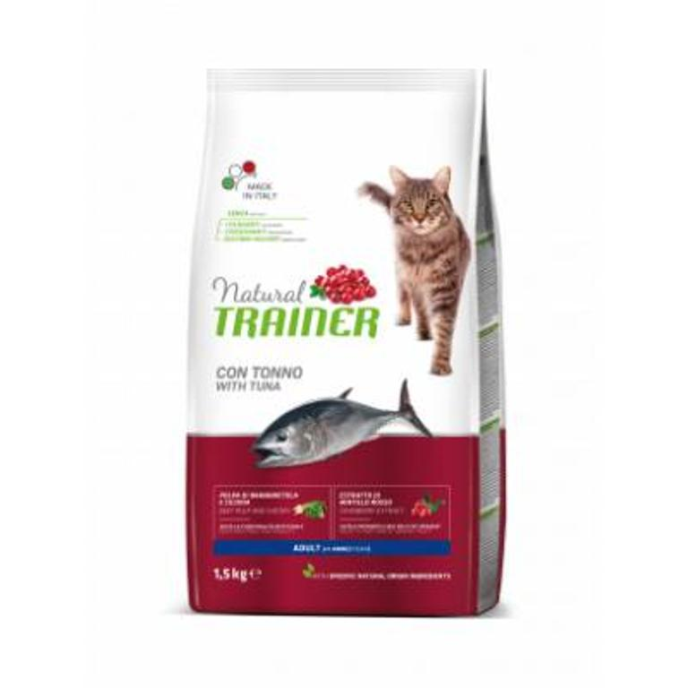 NATURAL TRAINER  Cat Adult Tonno 1,5kg