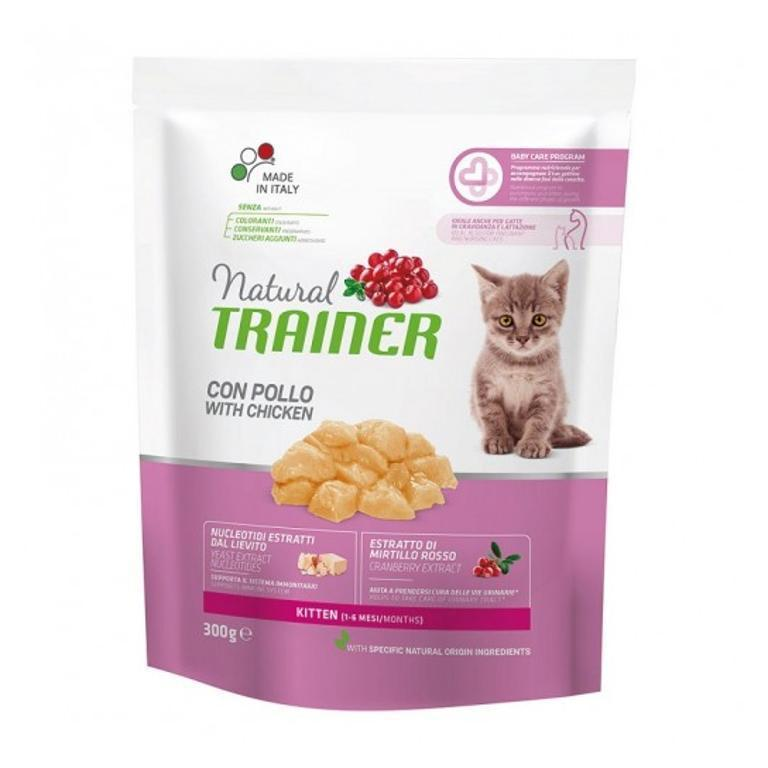 NATURAL TRAINER  Cat Kitten Pollo 0,3kg