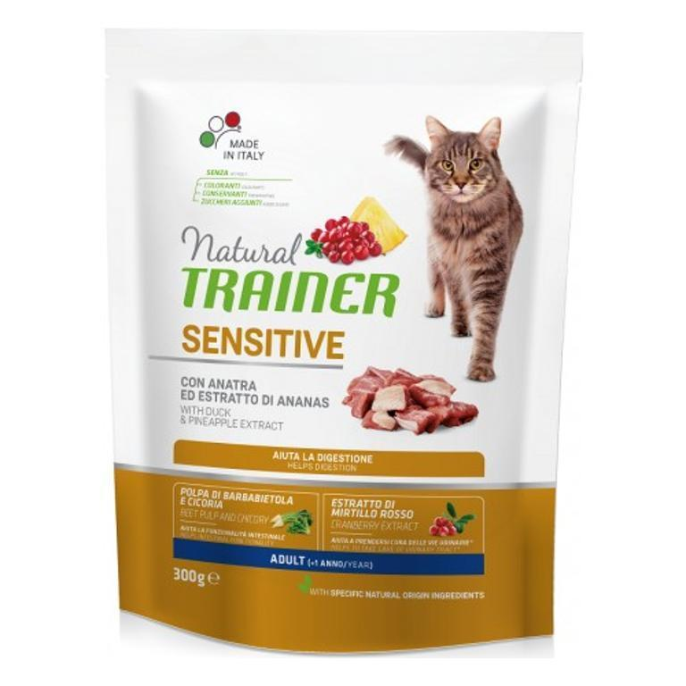 NATURAL TRAINER  Cat Sensitive Anatra 0,3kg