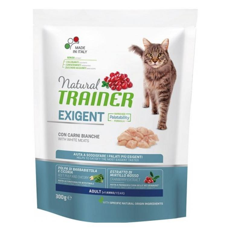 NATURAL TRAINER  Cat Sp Exigent Carni Bianche 0,3kg