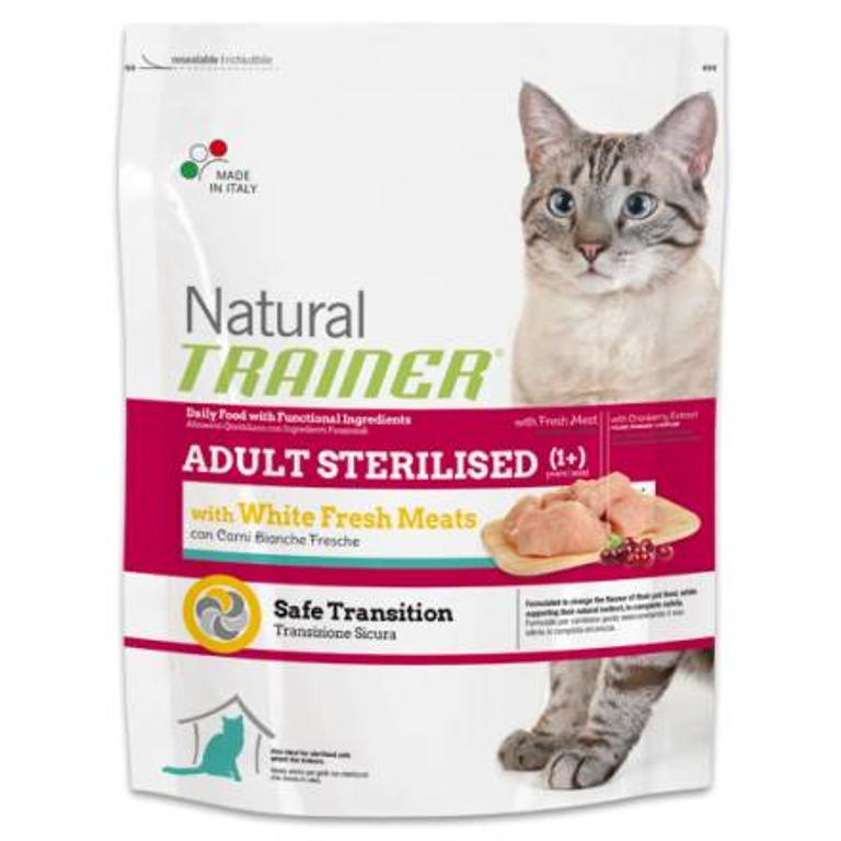 NATURAL TRAINER  Cat Sp Sterilised Carni Bianche 0,3kg