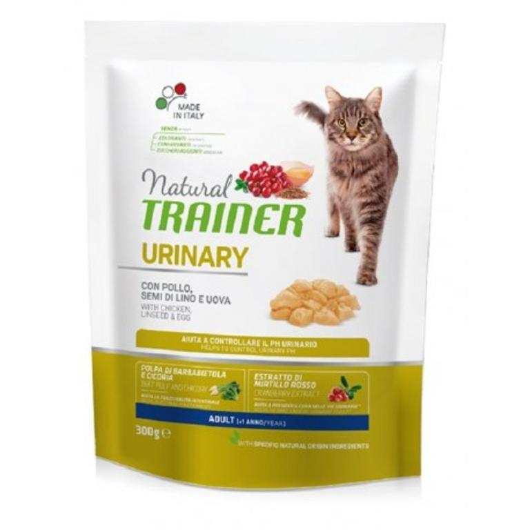 NATURAL TRAINER  Cat Urinary Pollo 0,3kg
