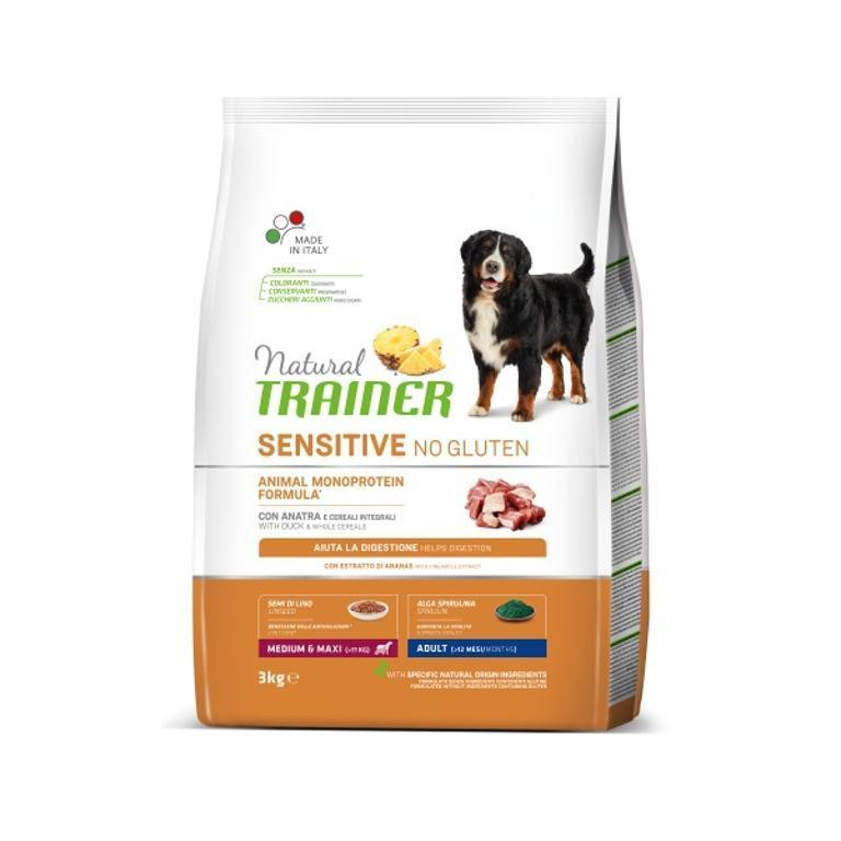 NATURAL TRAINER Sens No Gluten Adult Mini Anatra 2kg