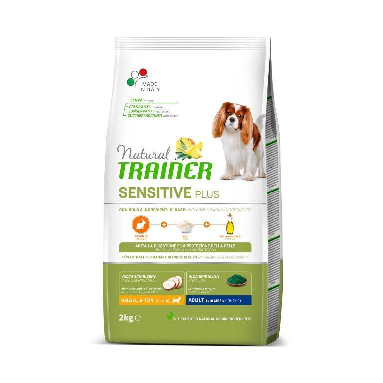 NATURAL TRAINER Sens Plus Adult Mini Coniglio 2kg