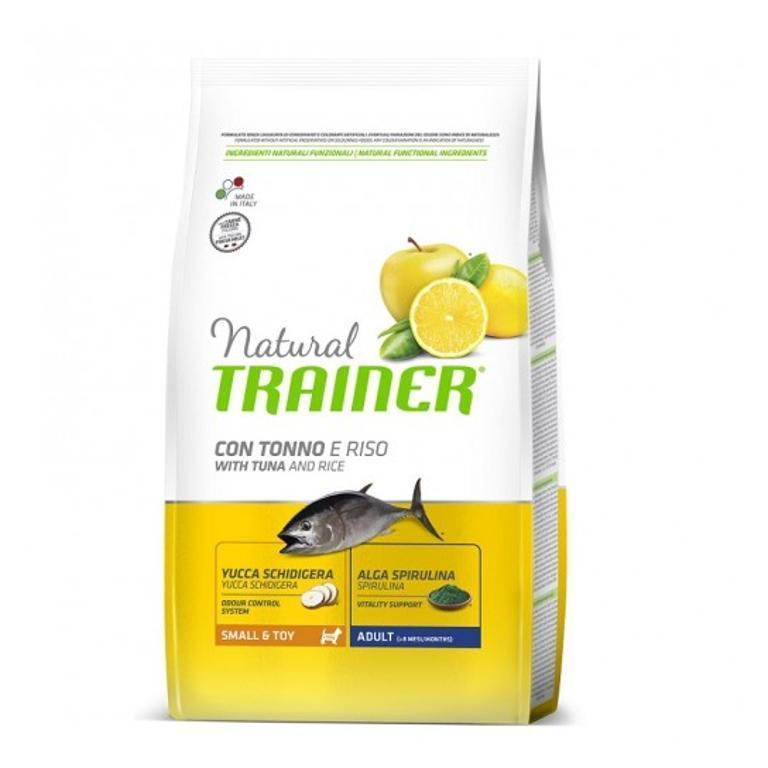 NATURAL TRAINER  Small&Toy Adult Pesce&Riso 800g