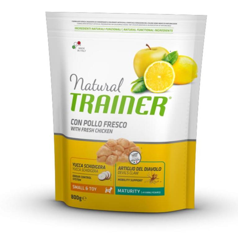 NATURAL TRAINER Small&Toy Mature Pollo 800g