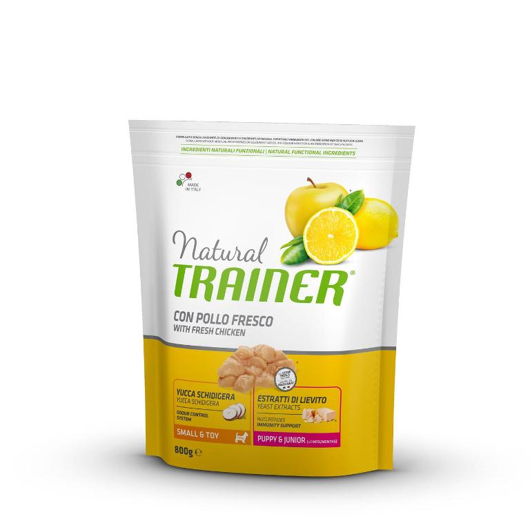 NATURAL TRAINER  Small&Toy Puppy&Jr Pollo 800g