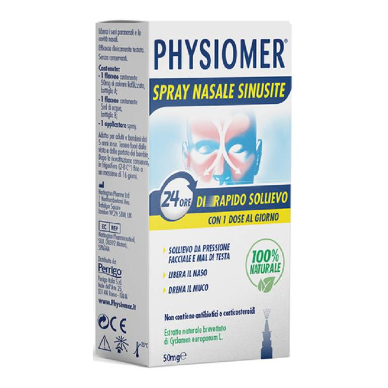 PHYSIOMER Spray Nasale Sinusite2p