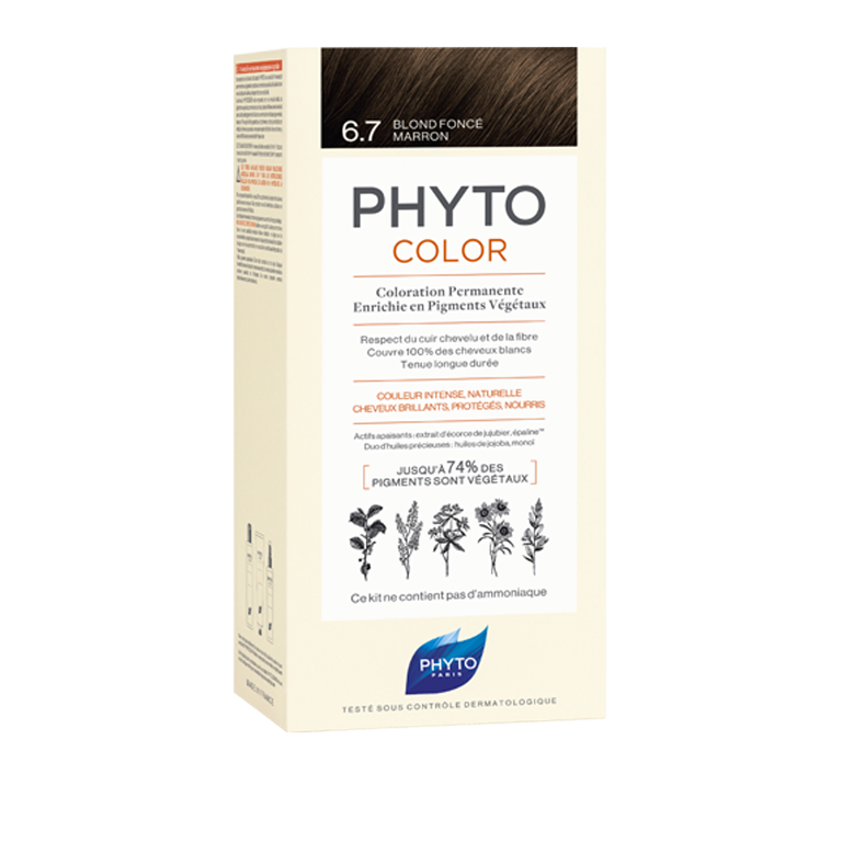 PHYTO Phytocolor Biondo Scuro Tabacco n 6.7
