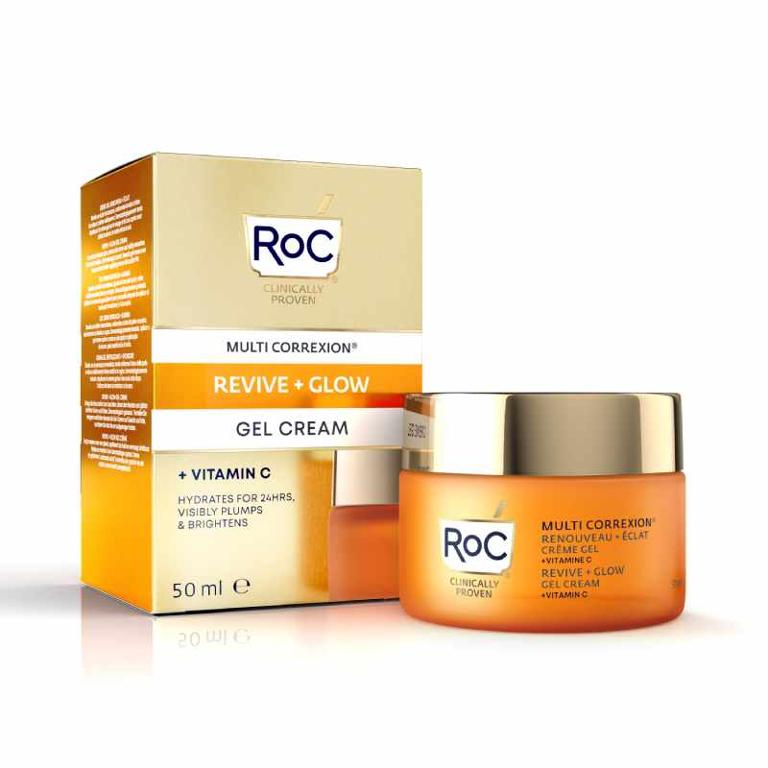 ROC Multi Correxion® Revive + Glow Crema Viso Gel
