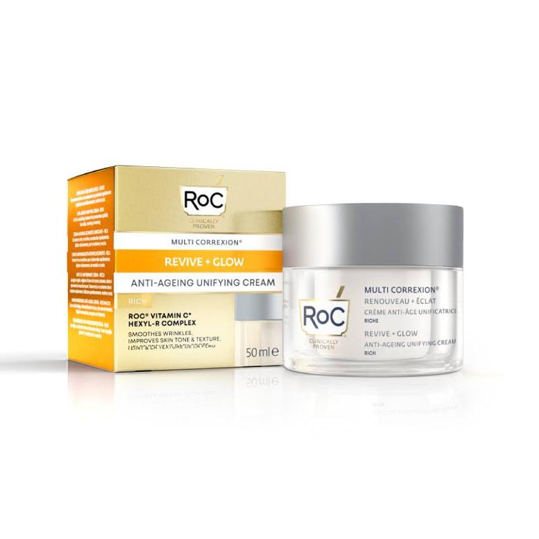 ROC Multi Correxion Revive + Glow Crema Viso Uniformante