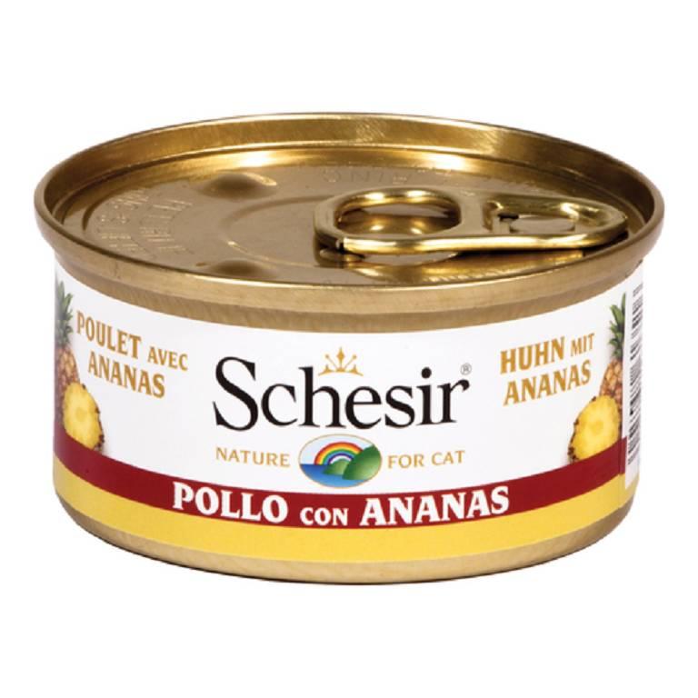 SCHESIR Filetti di Pollo e Ananas 75g