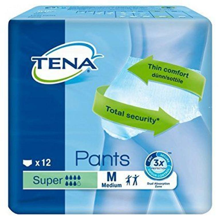 TENA Pants Super M New 12pz