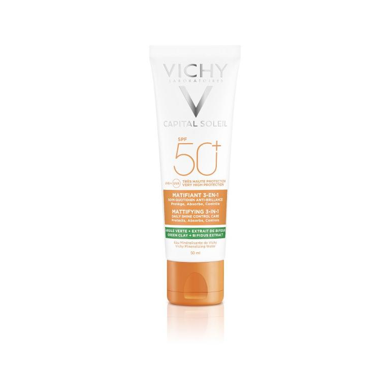 VICHY Capital Soleil Anti Acne Purificante Opacizzante SPF50+