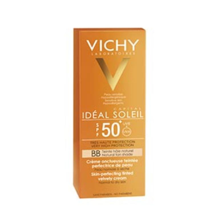 VICHY Ideal Soleil BB Crema Vellutata Colorata SPF 50+